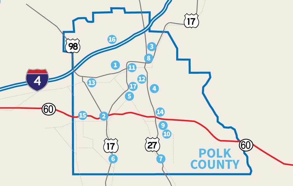 Mulberry Florida Map.Communities Central Florida Development Council